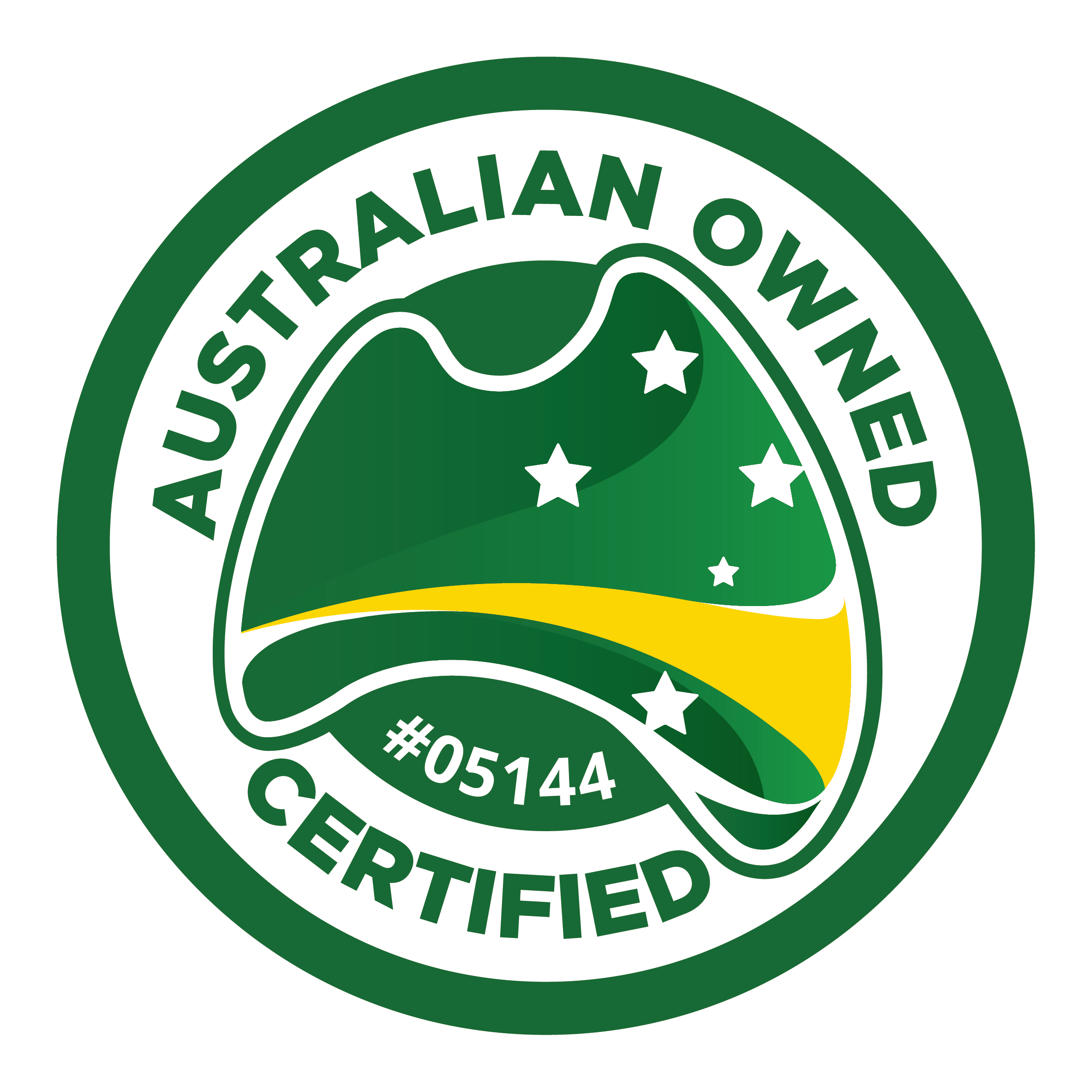 Australian Owned Certified logo